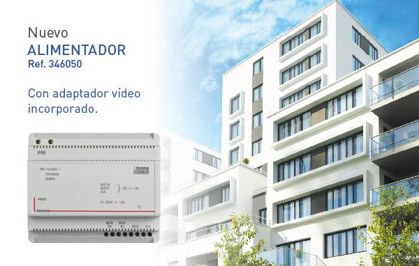 Nuevo alimentador con adaptador vídeo incluido, de Tegui