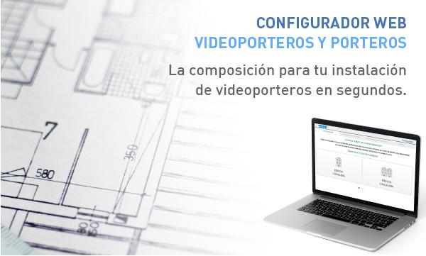 Configurador web videoporteros y porteros, de Tegui