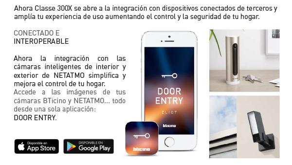 Classe 300X de Tegui, ahora interoperabilidad con cámaras inteligentes de Netatmo