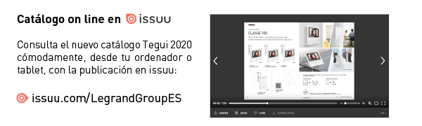 Ver el nuevo Catálogo Tarifa Tegui 2020 en ISSUU
