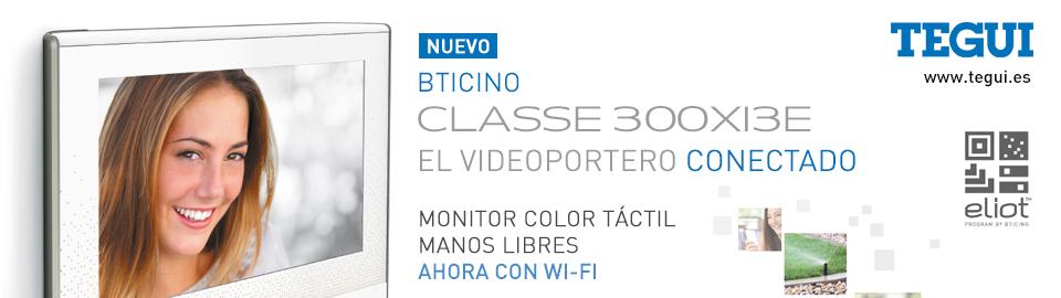 Nuevas Unidades interiores manos libres BTicino Classe 300X13E - El videoportero conectado, de Tegui