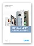 Cat�logo Tarifa Videoporteros y Porteros TEGUI 2016/03