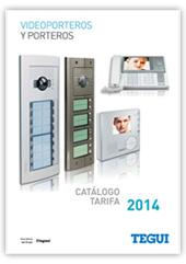 Catálogo Tarifa Porteros y Videoporteros marzo 2014, Tegui